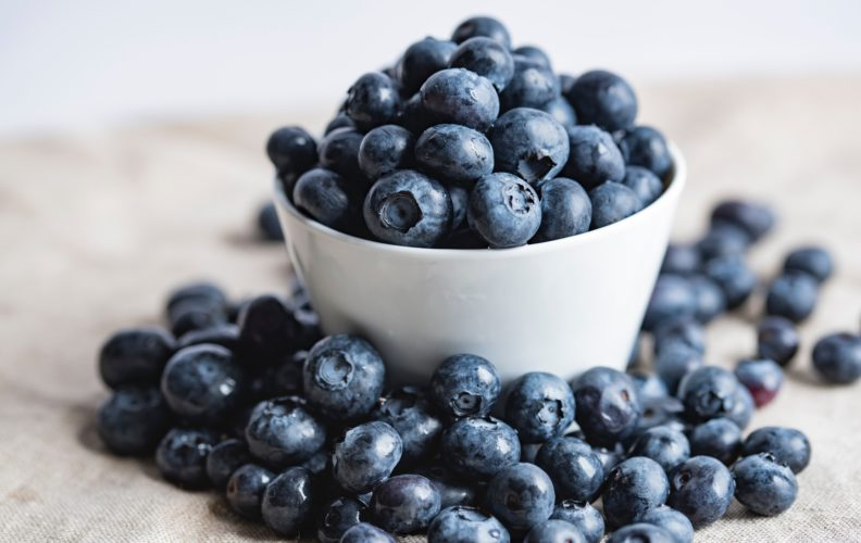 Blueberries. Photo by Joanna Kosinska on Unsplash